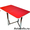 Обеденные столы оптом от производителя. Хром. #1461529