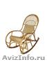 Кресло- качалка плетеная