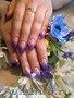 Наращивание шикарных ногтей