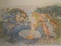 Фактурное панно,  Фрески ручной работы,  Декоративные штукатурки,  Аэрография.