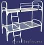 металлические кровати одноярусные и двухъярусные для интернатов, больниц, турбаз - Изображение #2, Объявление #695590