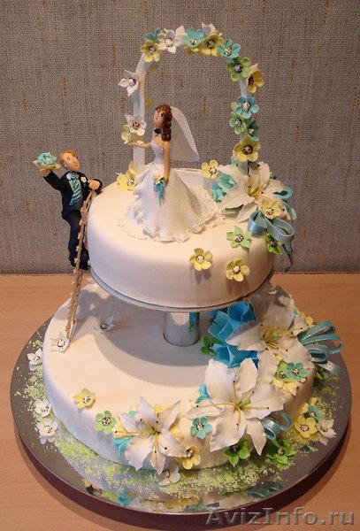 Закажи необычный торт на свадьбу день