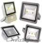 Светодиодные светильники разной мощности