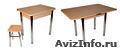 Обеденные столы оптом от производителя. Хром. - Изображение #2, Объявление #1461529
