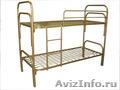 Кровати железные для казарм, кровати для строителей, кровати металлические. опт - Изображение #2, Объявление #1479546