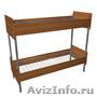 Кровати железные для казарм, кровати для строителей, кровати металлические. опт - Изображение #3, Объявление #1479546