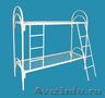 Металлические кровати с ДСП спинками для пансионатов, кровати для гостиниц. - Изображение #2, Объявление #1480289